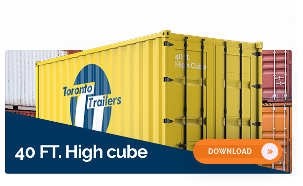 40' High Cube Container Dimensions
