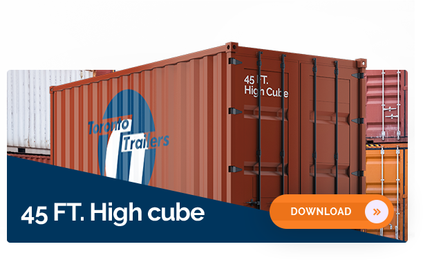 45' High Cube Container Dimensions