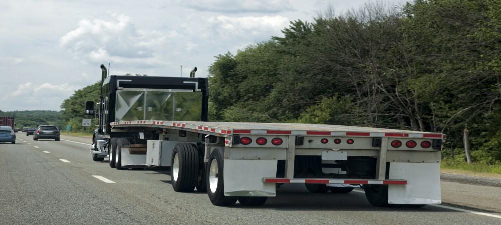 flatbedd trailer