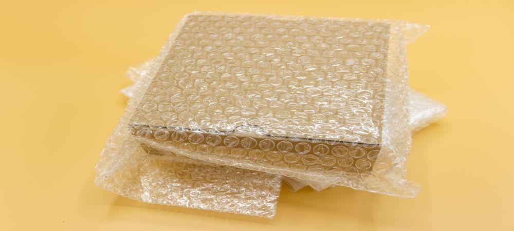 bubble wrap box